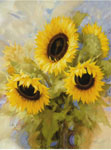Tavla av Levashov igor - Sunflower Dreams
