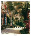 Tavla av Blechen, karl - The Palm House