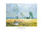 Tavla av Monet, claude - Printemps