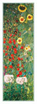 Tavla av Klimt, gustav - Garden Of Sunflowers